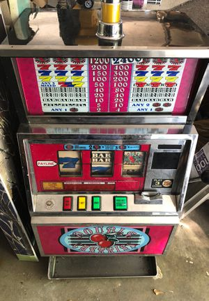 Double cherries slot machine for Sale in Virginia Beach, VA