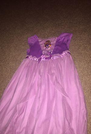 Disney rapunzel dress/night gown for Sale in Orlando, FL