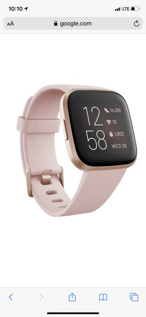 Fitbit versa 2 pink for Sale in Southington, CT