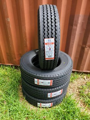 235/75/17.5 NEW TRAILER TIRES 18PLY FOR 190 DOLLARS EACH NO INSTALLATION for Sale in Houston, TX
