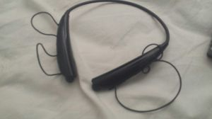 Black LG Bluetooth headset....make offer no low balling please thanks god bless. ..open to barter also for Sale in Pasadena, TX