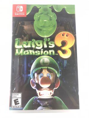 Luigi's Mansion-Nintendo Switch for Sale in Eustis, FL