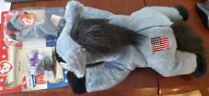 """2 """"Lefty"""" TY Beanie Baby large & small NEW for Sale in Renton, WA"""