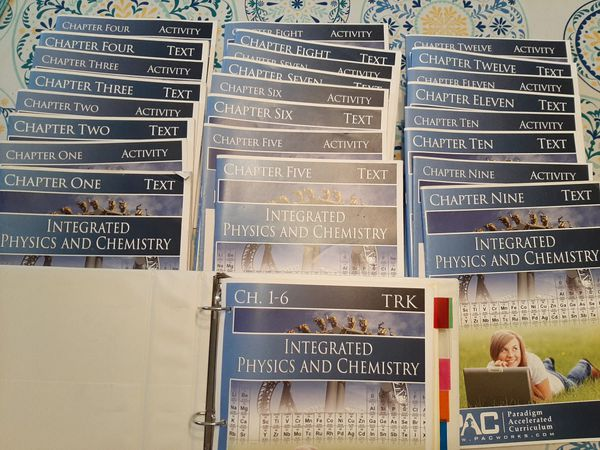 PAC Integrated Physics and Chemistry 1-12