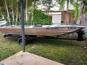 16ft john boat for Sale in Miami, FL