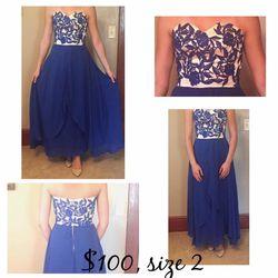 Sherri Hill Blue Dress for Sale in Normal,  IL