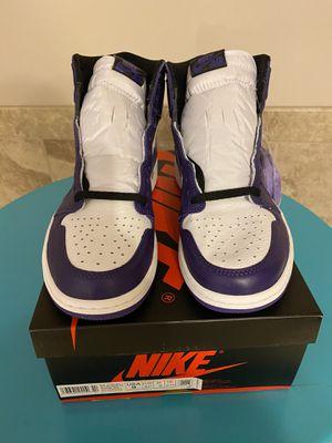 Jordan 1 purple 2.0 brand new size 9 for Sale in Renton, WA