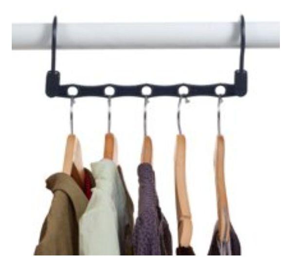 4 Space Saving Cascading Hangers Closet Clothes Organizers