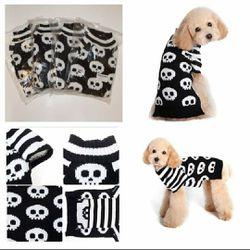 White Skull Pet Sweater Brand New for Sale in San Angelo,  TX