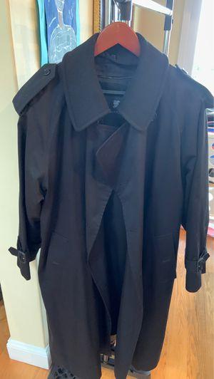 Burberry Men Black Rain Coat for Sale in San Diego, CA