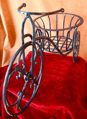 Decorative garden accent Bike pot holder Wrought iron H10xL17xW8 inch for Sale in Chandler, AZ