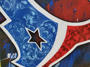 Texans with skulls painting for Sale in Houston, TX