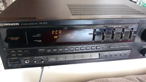 Pioneer stereo receiver SX-201 for Sale in Peoria, AZ
