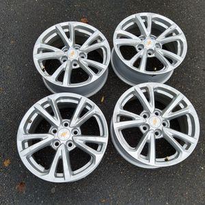 "17"" Wheels set '20 Chevy Malibu w/TMPS sensors *Like New* for Sale in Renton, WA"