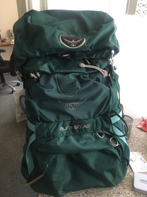Osprey aura 50 backpack for Sale in Bronx, NY
