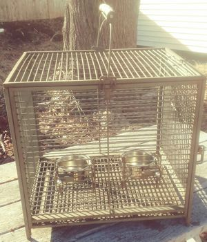 Heavy duty small animal bird cage for Sale in Taunton, MA