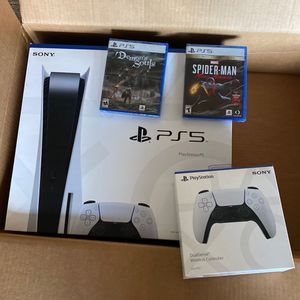 Ps5 Bundle With 1yr Gamestop Protection for Sale in Tiburon, CA