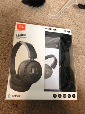 JBL Bluetooth Headphones T450BT for Sale in Sandy, UT