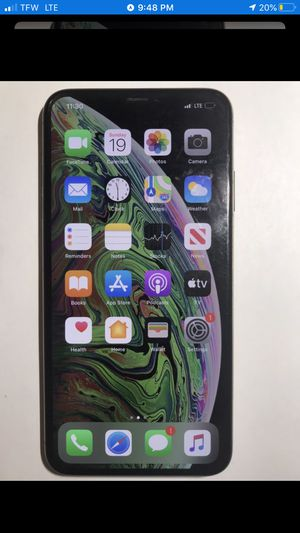 iPHONE XS MAX 64GB GOLD COLOR GREAT CONDITION FOR AT&T for Sale in Rancho Cordova, CA