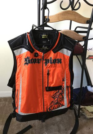 Scorpion Exo Vision Motorcycle Vest for Sale in Riverview, FL