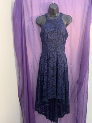 Navy High Low Dress Size S for Sale in Benicia, CA