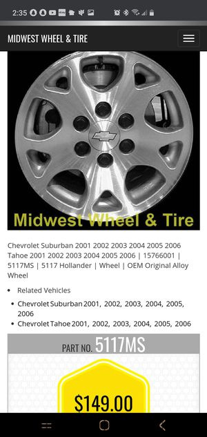 Chevy truck rims for Sale in Anchorage, AK