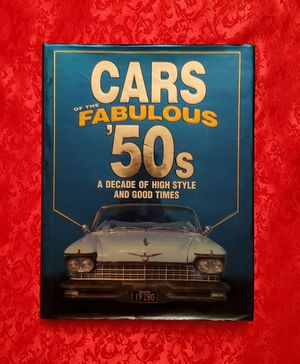 Cars of the Fabulous '50s Hardcover 1950's Automobiles w/ Dust Cover, Very Nice! for Sale in Charlotte, NC