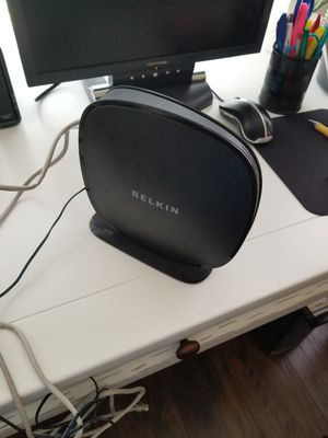 Belkin wireless router like new dont need it great condition works great for Sale in Allentown, PA