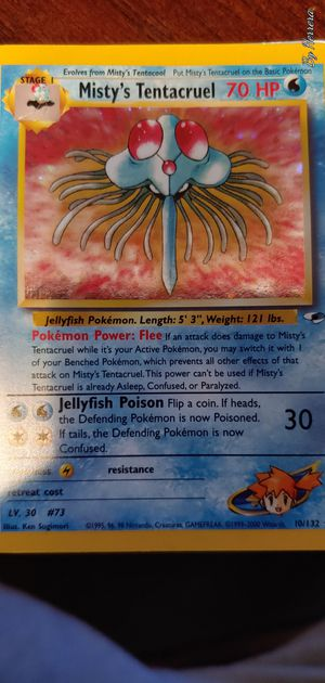 Misty's Tentacruel HOLO 10/132 for Sale in Chicago, IL