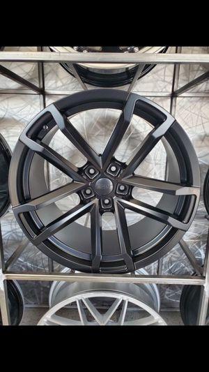 Satin black Zl1 style Camaro wheels fits 2010-2019 camaro 5x120 wheel tire rim shop for Sale in Tempe, AZ