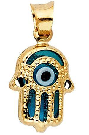 Hamsa / Evil Eye Pendant 14kt gold for Sale in Atlanta, GA