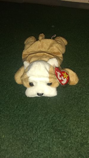 Wrinkles the dog Ty beanie baby for Sale in Spring Branch, TX