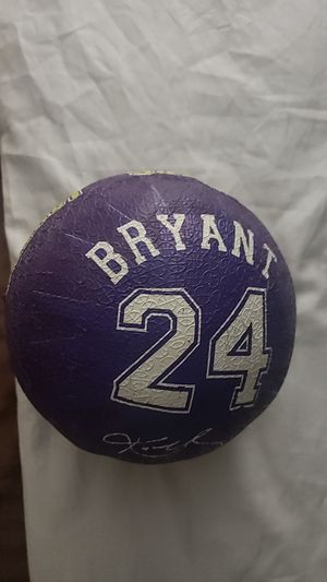 Lakers Kobe Bryant Ball for Sale in Fontana, CA