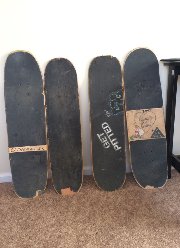 Thrashed Skateboards Good for Projects