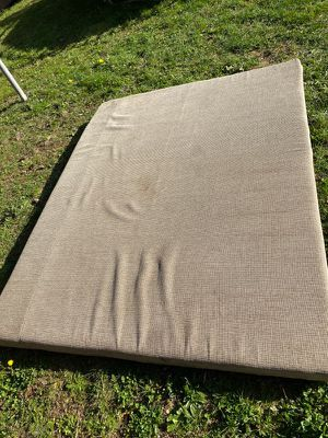 Pop up trailer mattress fits either side front or back for Sale in Tacoma, WA