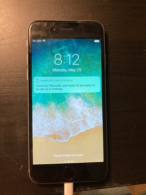 [Sale Pending] REFURBISHED iPhone 6 64GB Space Grey w/Cord and Case for Sale in Yacolt, WA