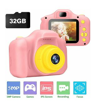 Kids Digital Camera, 2-inch IPS HD Screen with 32GB Card NEW IN BOX for Sale in Virginia Beach, VA