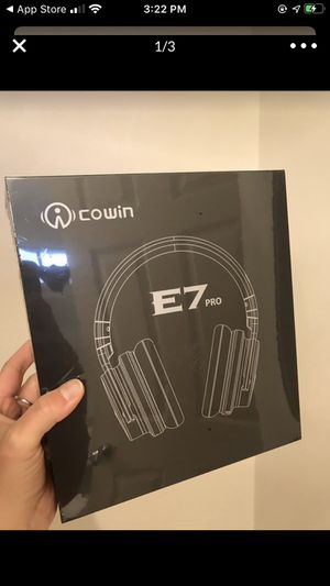 Cowan E7 Pro Active Noise Cancelling Headphones for Sale in Costa Mesa, CA
