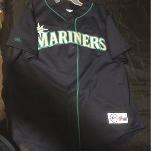Authentic Ken Griffey Seattle Mariners Jersey Xl for Sale in Lorain, OH