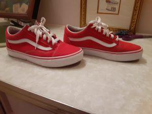 Red vans size 7 for Sale in Oakland Park, FL