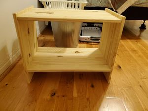 Side tables, simple, wood, set of 2, like new! for Sale in Biscayne Park, FL