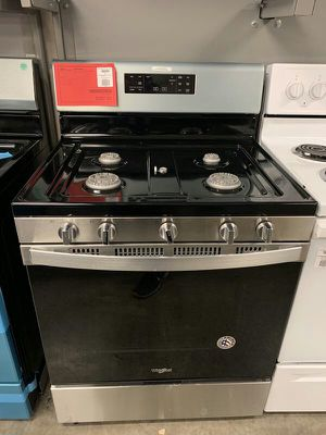 New Discounted Whirlpool Gas Range 1yr Manufacturers Warranty for Sale in Chandler, AZ