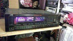 JVC stereo 200 watts receiver eq 1984 japan for Sale in Corona, CA