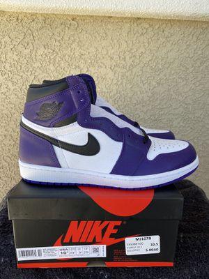 Jordan Retro 1 'Court Purple' for Sale in Reno, NV