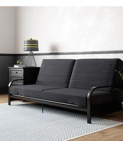 Futon, Black for Sale in Paterson,  NJ