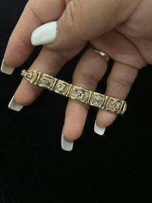 GOODLUCK ☘️ bracelet 14K women's bracelet for Sale in Annandale, VA
