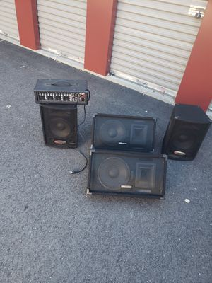 DJ equipment works great for Sale in Whitinsville, MA