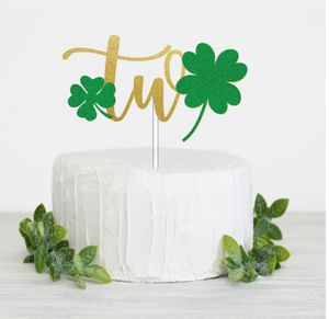 Two ☘️ cake topper for Sale in Santa Ana, CA
