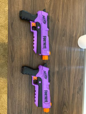 FORTNITE NERF GUNS for Sale in Spring, TX