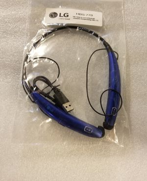 LG Tone Pro Hbs-770 Bluetooth Wireless Stereo Headset - Black or Blue for Sale in Dearborn, MI